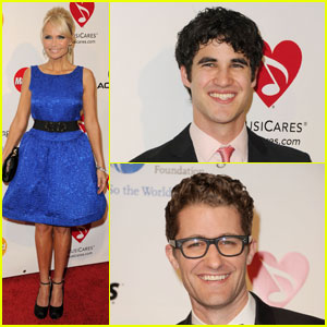 Kristin Chenoweth: MusiCares with the Glee Guys!