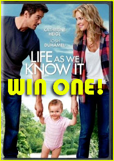 Win 'Life As We Know It' DVD & Soundtrack!
