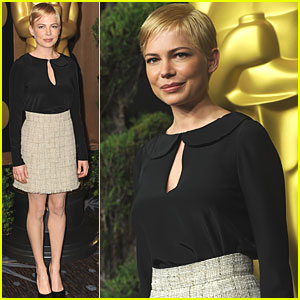 Michelle Williams: Oscar Nominations Luncheon