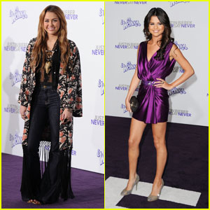 Miley Cyrus & Selena Gomez: 'Never Say Never' Premiere!