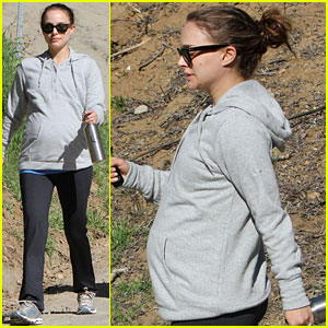 Natalie Portman: Beachwood Canyon Baby Bump!