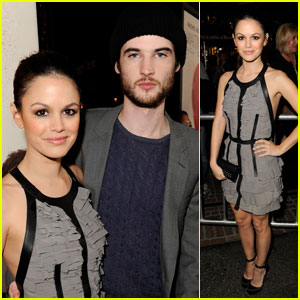 Rachel Bilson: 'Waiting for Forever' Premiere!