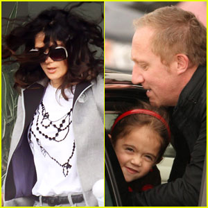 Salma Hayek: Waterfront Lunch with Francois & Valentina!