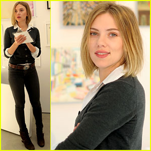 Scarlett Johansson: Pieces of Heaven Art Auction!
