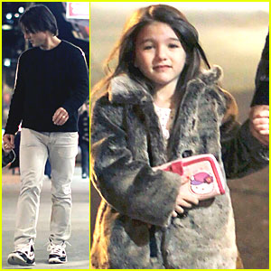 Tom Cruise: Steakhouse with Suri!