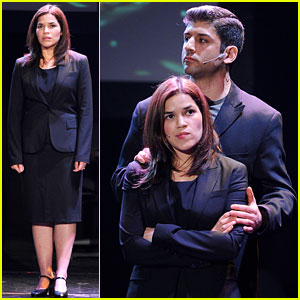 America Ferrera: 24 Hour Musicals on Broadway!