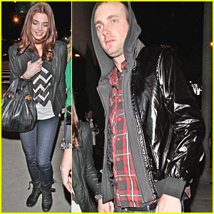 Ashley Greene: Trousdale with Dickey Doo!