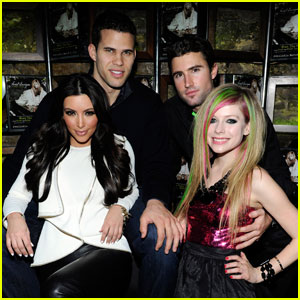 Avril Lavigne: Album Release Party with Kim Kardashian!