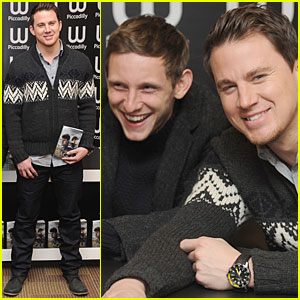 Channing Tatum: 'Eagle' Signing with Jamie Bell!