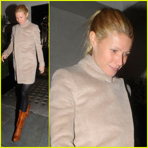 Gwyneth Paltrow: Dinner with Stella McCartney!