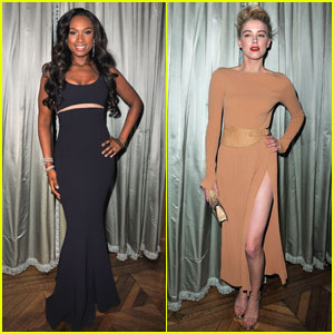 Jennifer Hudson &#038; Amber Heard: Michael Kors Dinner!