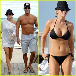 Jenny McCarthy: Bikini Bod in Miami!
