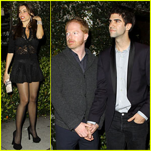 Jesse Tyler Ferguson & Justin Mikita: Dinner with 'Modern Family' Cast!