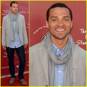 Jesse Williams: John Varvatos Stuart House Benefit!