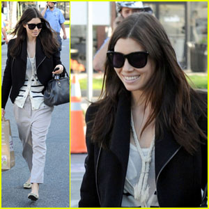 Jessica Biel: Grocery Shopping with Dad