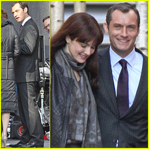 Jude Law: '360' Set with Rachel Weisz!