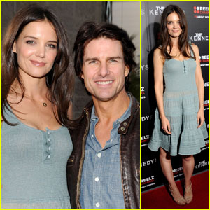 Katie Holmes: 'The Kennedys' Premiere with Tom Cruise!