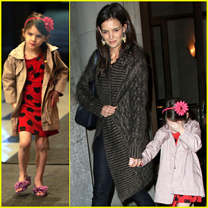 Katie Holmes: 'Wicked' with Suri!