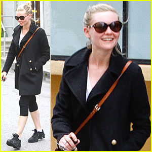 Kirsten Dunst: Studio City Workout