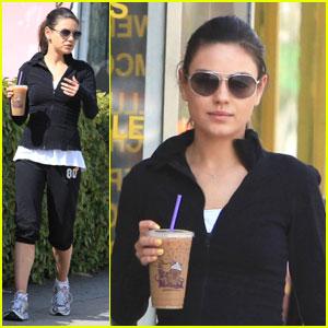 Mila Kunis: Coffee Bean Break