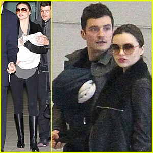 Miranda Kerr: Paris with Orlando Bloom &#038; Flynn!