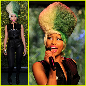 Nicki Minaj: Green Hair for Green Auction