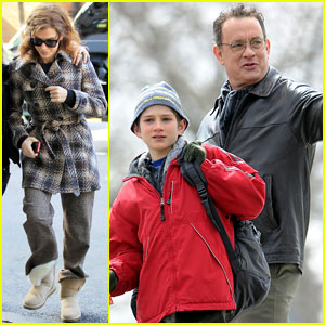 Sandra Bullock & Tom Hanks Get 'Extremely Loud'