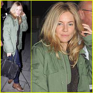 Sienna Miller Performs In 'Flare Path'