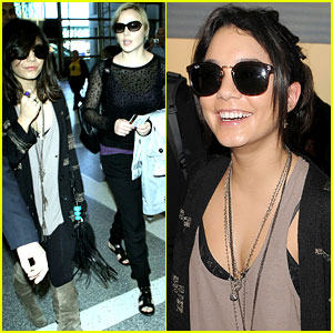 Vanessa Hudgens: London Bound with Abbie Cornish!