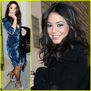 Vanessa Hudgens: Tattoo Tease on 'Regis & Kelly'