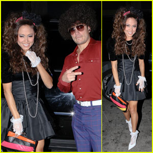 Nick Lachey & Vanessa Minnillo: Costume Party Pair
