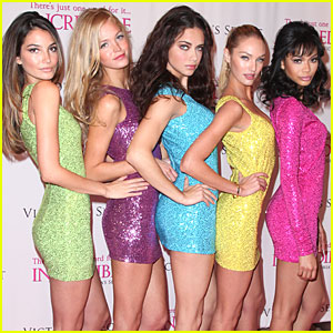 Victoria's Secret Angels Introduce 'Incredible'