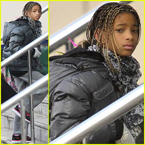 Willow Smith: Manchester Arrival!
