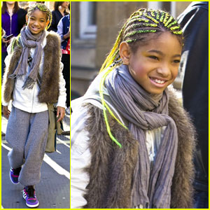 Willow Smith: Neon Braids
