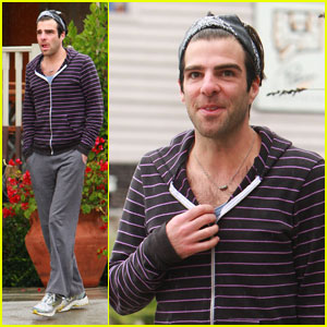 Zachary Quinto: Rainy Day Lunch