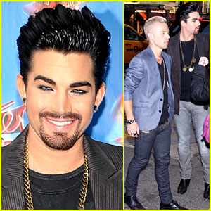 Adam Lambert: Facial Hair for 'Sister Act'!