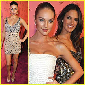 Adriana Lima: Victoria's Secret Pink Carpet Event!