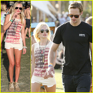 Alexander Skarsgard &#038; Kate Bosworth: Coachella Duo!