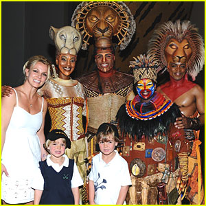 Britney Spears: 'Lion King' in Las Vegas!
