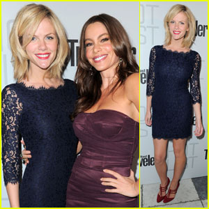 Brooklyn Decker & Sofia Vergara: Conde Nast Party Pals!