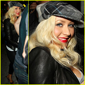 Christina Aguilera: Linda Perry Concert with Matthew Rutler!