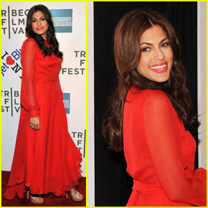 Eva Mendes: 'Last Night' Premiere at Tribeca Film Festival