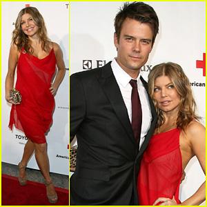 Fergie & Josh Duhamel: Annual Red Tie Affair!