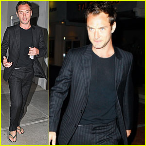 Jude Law: Out to Dinner with Rafferty!