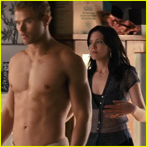 Kellan Lutz: Shirtless for 'Love, Wedding, Marriage' Trailer!
