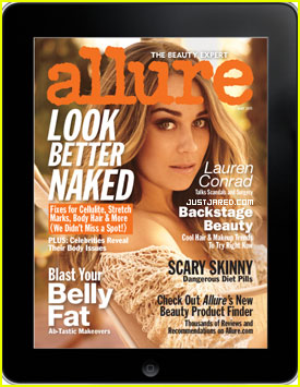 Lauren Conrad Covers 'Allure' May 2011