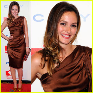 Leighton Meester: DKMS Gala Girl
