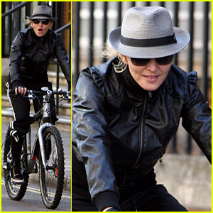 Madonna: Abbey Road Bike Ride!