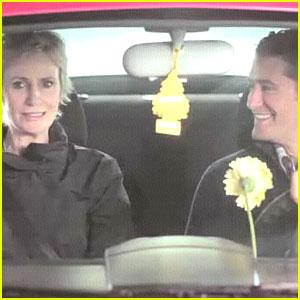 Matthew Morrison & Jane Lynch 'Carpool' for Funny or Die!