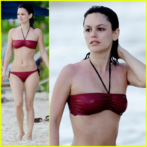 Rachel Bilson: Bikini Babe in Barbados!